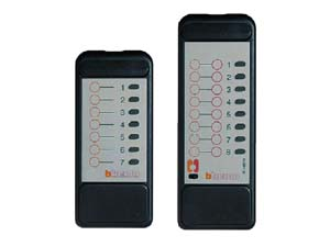 В отдельном помещение возможна установка до 4 ИК-приемников, что позволяет использовать до 16 каналов пульта ДУ.