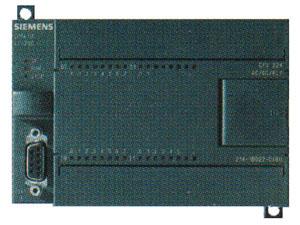 CPU 224 семейства SIMATIC имеет 14 дискретных входов и 10 выходов с возможностью расширения до 94 и 74 соответственно