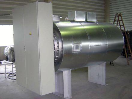 Теплообменный аппарат для технической воды