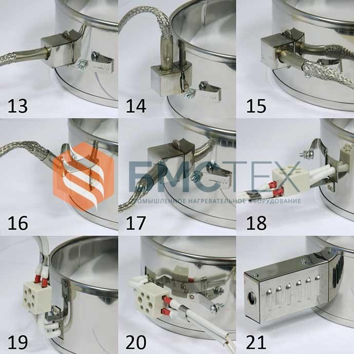 Типы токоподвода миконитовые