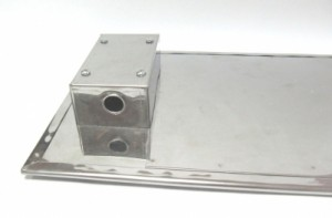 Нагреватель плоский слюдяной, шпильки закрыты коробом