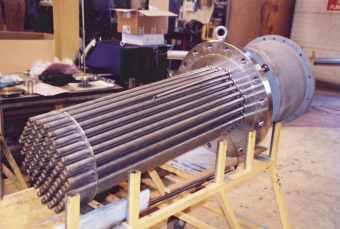 Фланцевый нагреватель 240 кВт