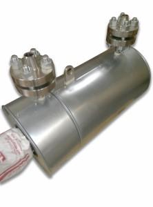 Проточный нагреватель с промежуточным теплоносителем