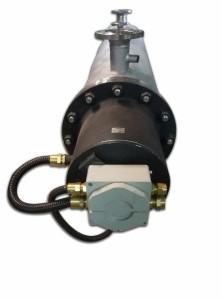 Проточный нагревтель воздуха мощностью 20 кВт