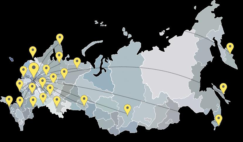 география проектов БМСТЕХ